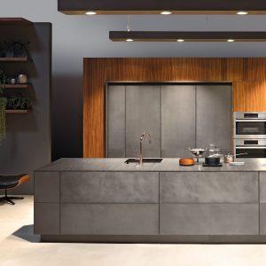 KH keuken beton anthaciet