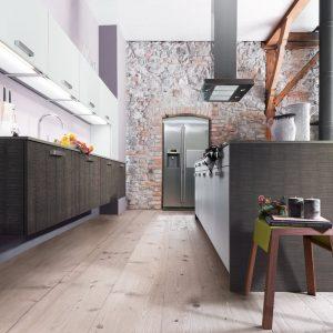 Avalon Castle eiken fineer keuken roughcut structuur Carbon
